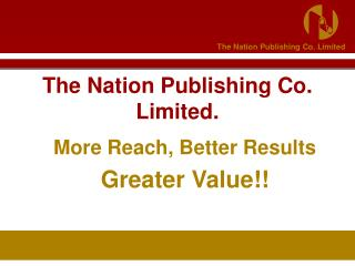 The Nation Publishing Co. Limited.