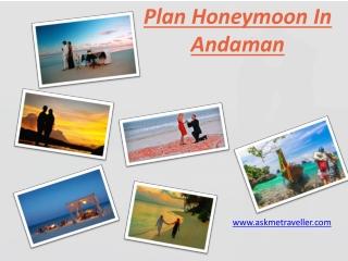 Plan Honeymoon In Andaman