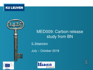 MED009: Carbon release study from BN