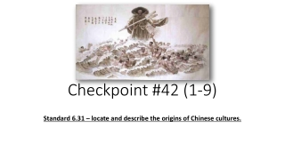 Checkpoint #42 ( 1-9)