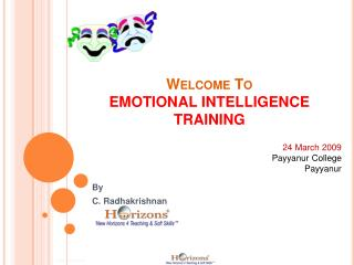 Welcome To EMOTIONAL INTELLIGENCE TRAINING