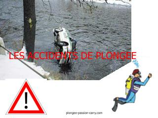 LES ACCIDENTS DE PLONGEE