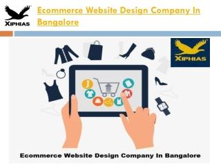 Ecommerce Website Design Company In Bangalore