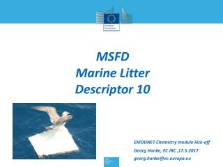MSFD Marine Litter Descriptor 10