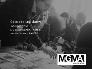Colorado Legislative Roundtable