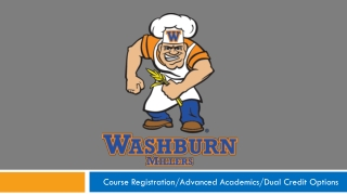 Course Registration/Advanced Academics/Dual Credit Options