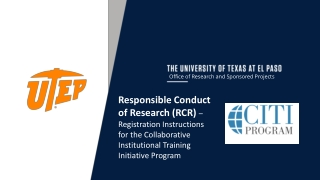Office of Research and Sponsored Projects