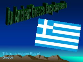 An Ancient Greece Encyclopaedia