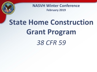 NASVH Winter Conference February 2019