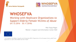 Pille Tsopp-Pagan Women`s Support and Information Center NGO