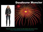 Doudoune Moncler Pas Cher