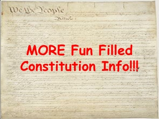 MORE Fun Filled Constitution Info!!!