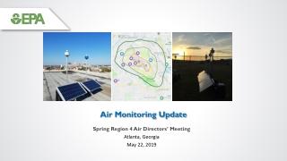Air Monitoring Update