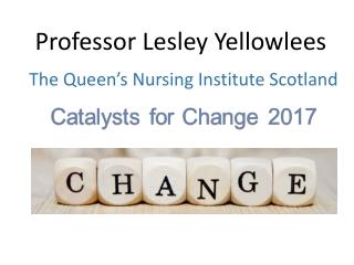 Professor Lesley Yellowlees