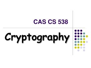 CAS CS 538