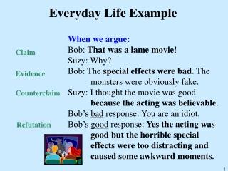 Everyday Life Example