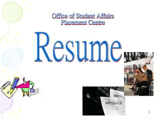 Office of Student Affairs Placement Centre