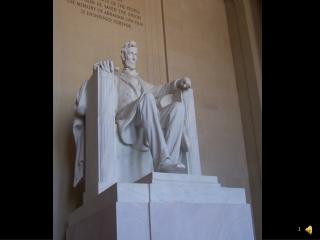 Lincoln Memorial in Washington, D. C.