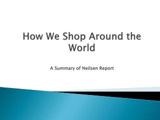 How We Shop Around the World