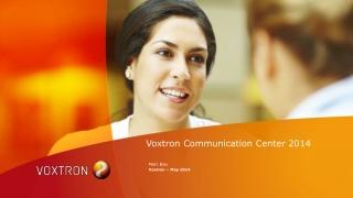 Voxtron Communication Center 2014
