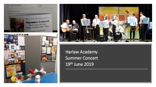 Harlaw Academy Summer Concert 19 th June 2019