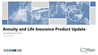 Annuity and Life Insurance Product Update