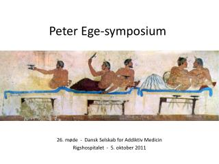 Peter Ege-symposium