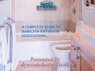 A Complete Guide to Hamilton Bathroom Renovations