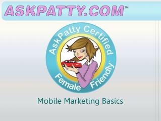Mobile Marketing Basics