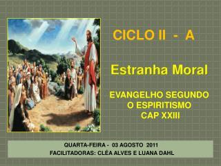 Estranha  Moral EVANGELHO SEGUNDO O ESPIRITISMO   CAP XXIII