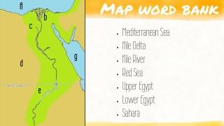 Map word bank