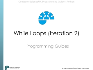 While Loops (Iteration 2)