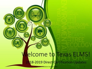 Welcome to Texas ELMS!