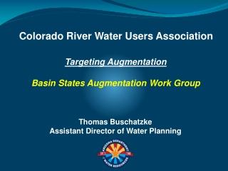 Targeting Augmentation Basin States Augmentation Work Group