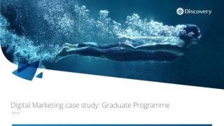 Digital Marketing case study: Graduate Programme