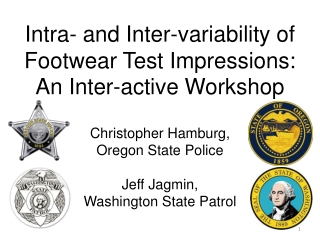 Intra- and Inter-variability of Footwear Test Impressions: An Inter-active Workshop