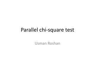 Parallel chi-square test