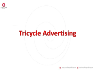 Tricycle Advertising