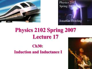 Physics 2102 Spring 2007 Lecture 17