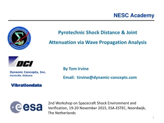 Pyrotechnic Shock Distance & Joint Attenuation via Wave Propagation Analysis