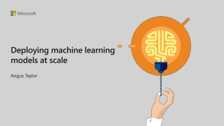 Deploying machine learning models at scale