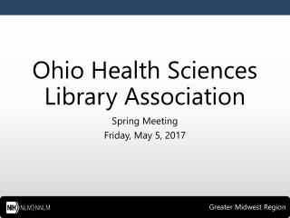 Ohio Health Sciences Library Association