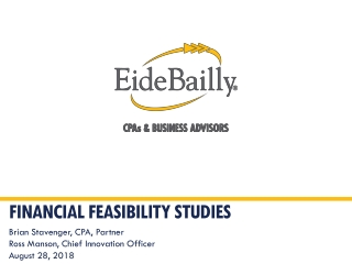 Financial Feasibility studies