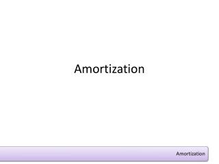 Amortization
