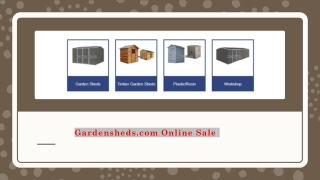 EasyShed 2.25 x 0.75 – Bike Shed – 1.31m Tall Online