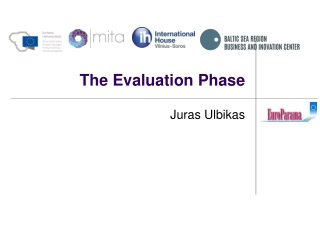 The Evaluation Phase