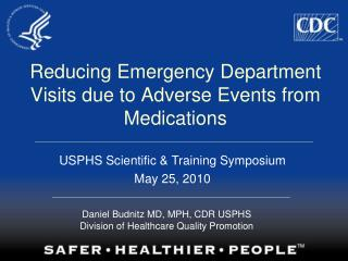 Reducing Emergency Department Visits due to Adverse Events from Medications