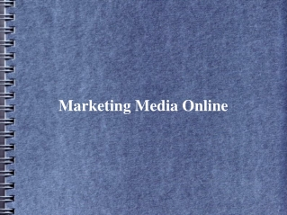 Marketing Media Online