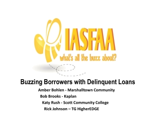 Buzzing Borrowers with Delinquent Loans