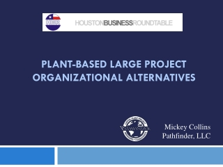 Plant-Based Large Project Organizational Alternatives